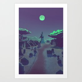 They stay with us Art Print