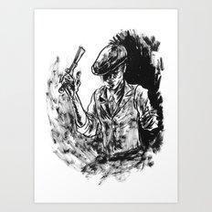 One Armed Gangster Art Print