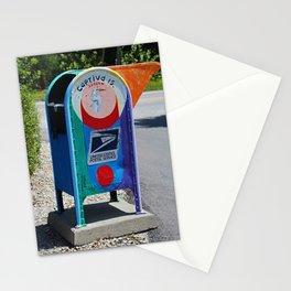 Captiva Island Mailbox- vertical Stationery Cards