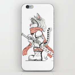 Squire American Shorthair Grey Tabby iPhone Skin