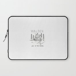 WALDEN Life in the woods Laptop Sleeve