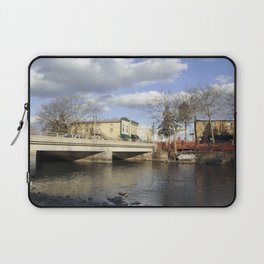 By the river 4 Laptop Sleeve