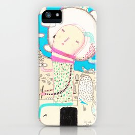 Be led by your dreams iPhone Case
