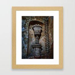 Bone Chalice Framed Art Print