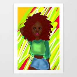 Gianna Art Print