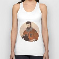 western Tank Tops featuring Western Mandela by Lazy Trope