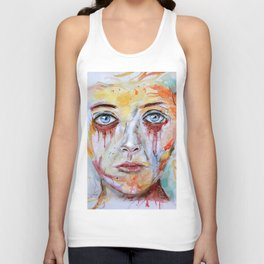 Deep Soul 11 - Hochkant Version Unisex Tank Top