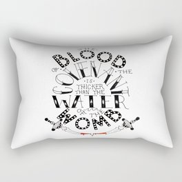 Blood of the Covenant Rectangular Pillow