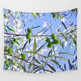 Olives in the sunshine Wall Tapestry