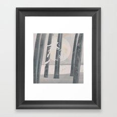 Nowhere Framed Art Print