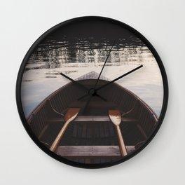 Majestic River Ride Wall Clock