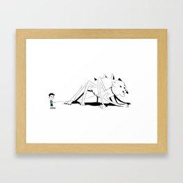 Pet Spidercat Framed Art Print