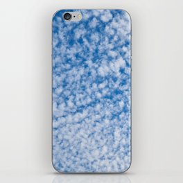 cloudy sky 2 iPhone Skin