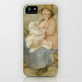 Maternity (Child at the breast) iPhone Case