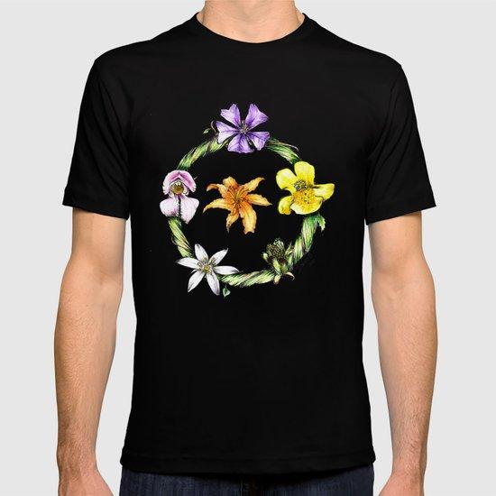 Garland of flowers T-shirt