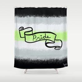 Agender Pride Shower Curtain