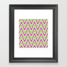 Lime Zest Framed Art Print