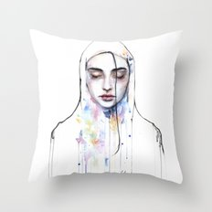 Habibi (nudity) Throw Pillow