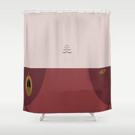 Kira Nerys - Minimalist Star Trek DS9 Deep Space Nine - Major  - startrek - Trektangles Shower Curtain