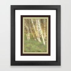 Fall Alders Framed Art Print