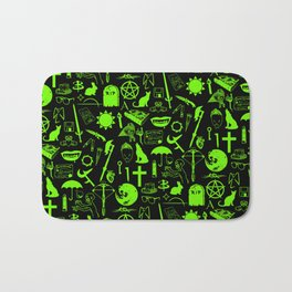 Buffy Symbology, Green Bath Mat