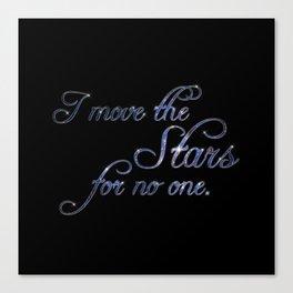Move The Stars Canvas Print