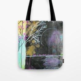 Moon Life Tote Bag