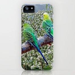 Birdies iPhone Case