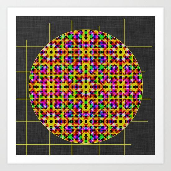 Crochet Crush Art Print