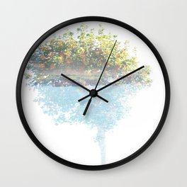Where the sea sings to the trees - 3 Wall Clock