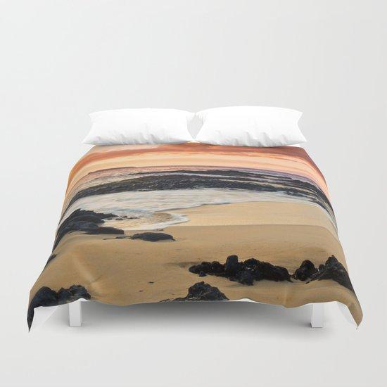 Paako Beach Dreams Duvet Cover