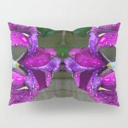 Sacred Trilogy: Water Irises Pillow Sham