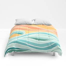 Sea and Sky II Comforters