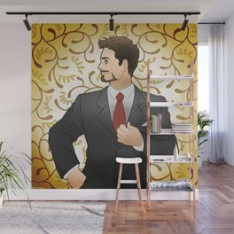 Suited Tony Wall Mural