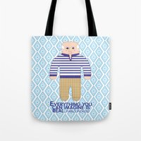 pablo picasso Tote Bags featuring Pablo Picasso by Late Greats by Chen Reichert