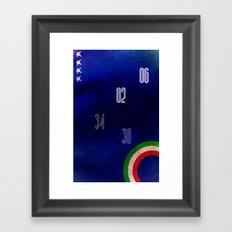 Italy World Cup Framed Art Print