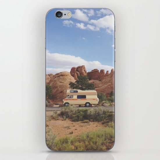 Rock Camper iPhone & iPod Skin