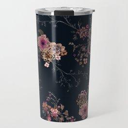 Japanese Boho Floral Travel Mug