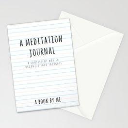 A meditation Journal Stationery Cards