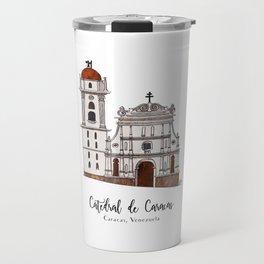 Catedral de Caracas Travel Mug
