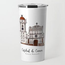 Catedral de Caracas Travel Mug