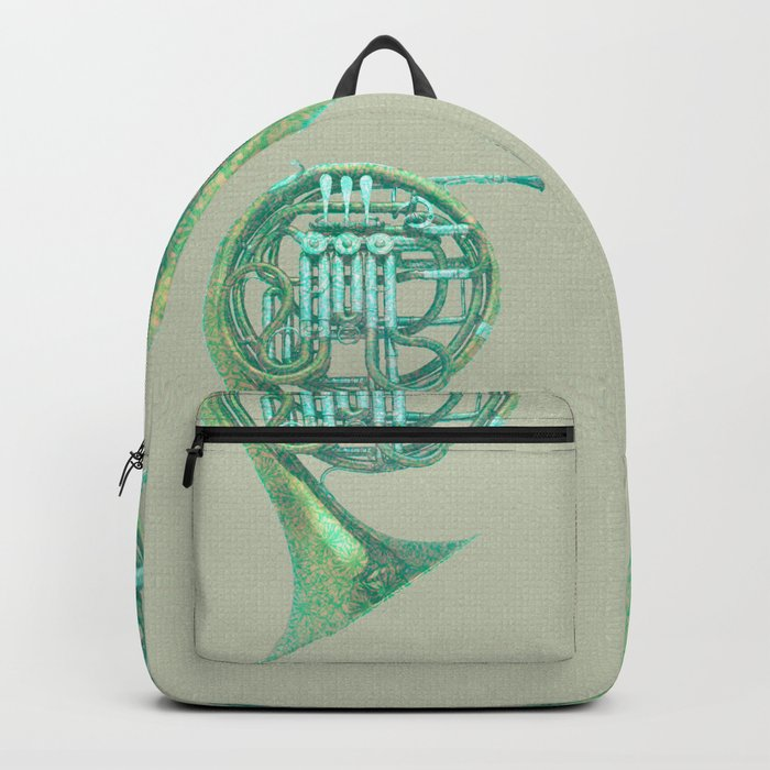 Single horn in F Backpack