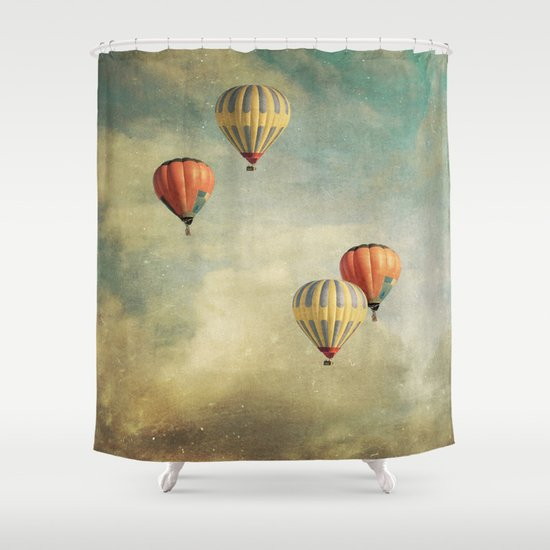 tales of far away 2 Shower Curtain