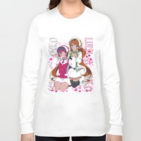 yaoi Long Sleeve T-shirts featuring Lulu X Ginko by Neo Crystal Tokyo
