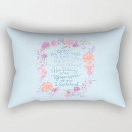 Amazing Grace - Hymn Rectangular Pillow