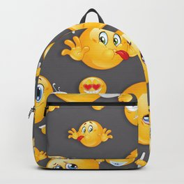 Emoji Pattern 5 Backpack