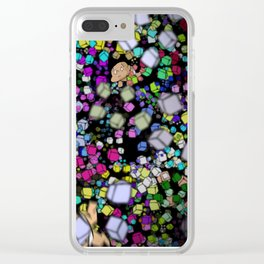 TURBO wandering Clear iPhone Case