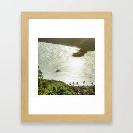 Shirley Heights Framed Art Print