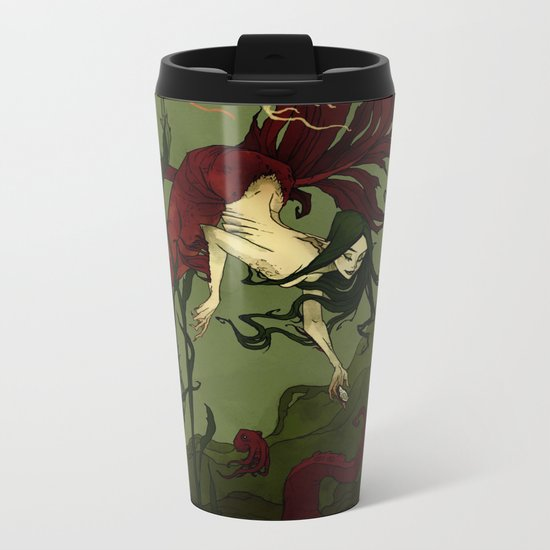 The Little Mermaid Metal Travel Mug