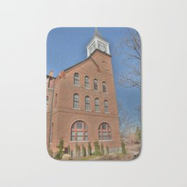 Cherokee Nation - NSU, Originally the Cherokee Female Seminary of 1841, No. 3 of 4 Bath Mat